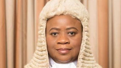 Photo of Buhari recommends Justice Monica Dongban-Mensem as President, Court of appeal
