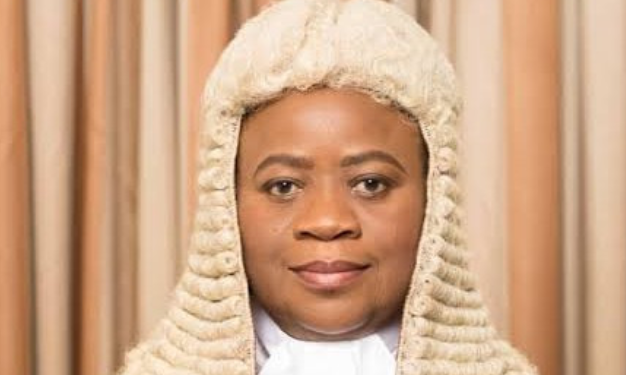 Buhari recommends Justice Monica Dongban-Mensem as President, Court of appeal 1