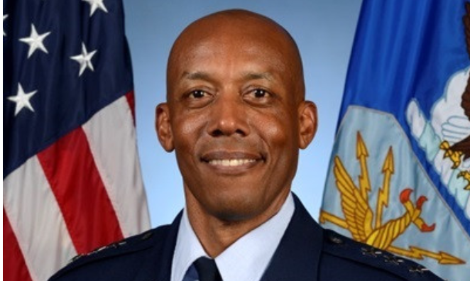 Gen. Brown becomes first black Military service Chief in America 1