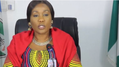 "Photo of ""Anyone who Justifies Rape will be arrested henceforth"" – NAPTIP DG, Julie Okah-Donli"