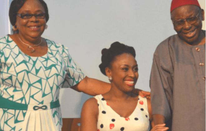 Nigerian Novelist, Chimamanda Adichie loses Father at 88 1