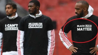 Photo of Premier League to replace Players' names with 'Black Lives Matter' upon resumption