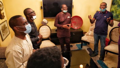 Photo of Sanwo-Olu pays condolence visit to Pastor Ituah Ighodalo