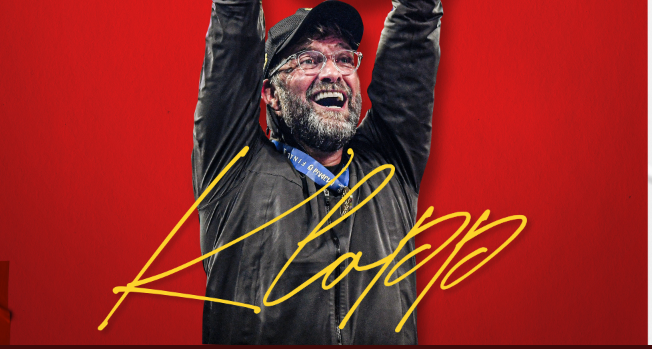 Liverpool's Manager, Jurgen Klopp is a year older today 3
