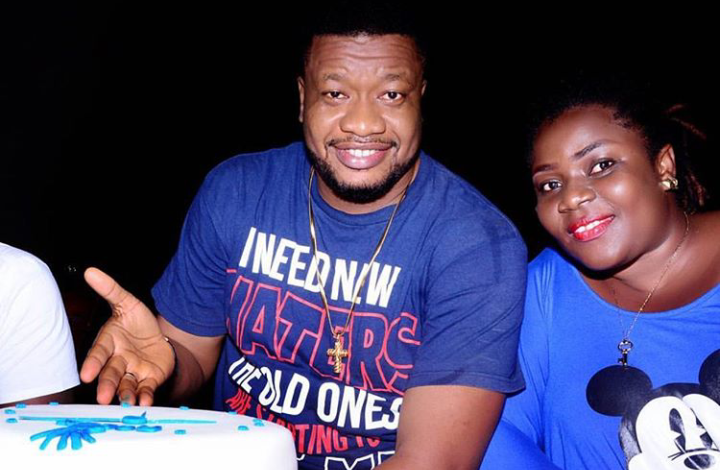 Nollywood actor, Browny Igboegwu, Wife welcome their first Child after 10 years of marriage 1