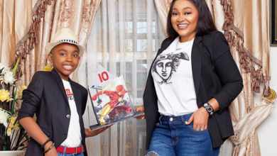 Photo of Mercy Aigbe celebrates Son as he turns 10 (Photo)
