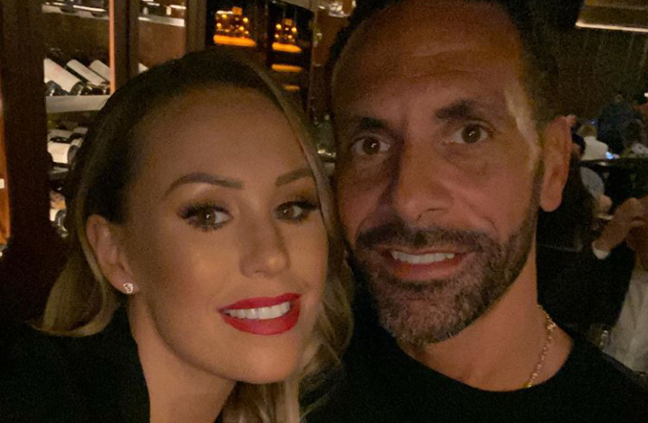 Rio Ferdinand and his Wife, Kate expecting first Child together. 1