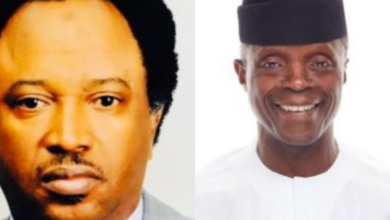 "Photo of ""Instead of cutting cost you are calling for debate?"" – Shehu Sani slams Osinbajo"