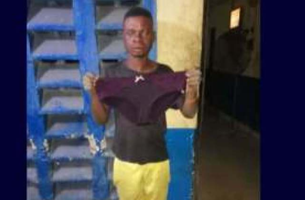 Vulcanizer arrested after stealing client's Underwear for Rituals 1