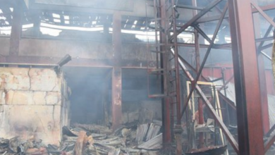 Photo of Benin Oba Market gutted by fire