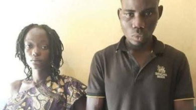 Photo of Couple arrested for molesting ex-lover in Ogun State