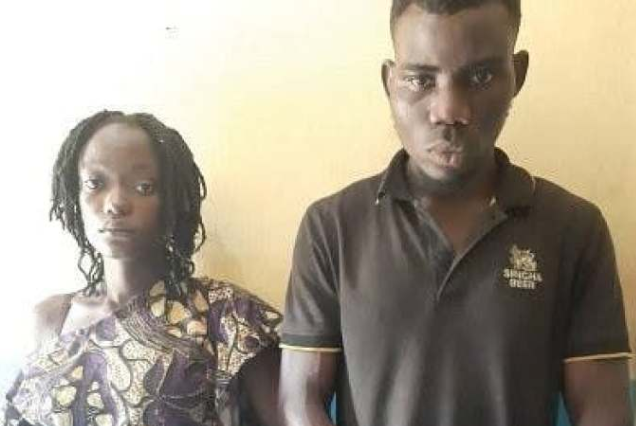 Couple arrested for molesting ex-lover in Ogun State 1