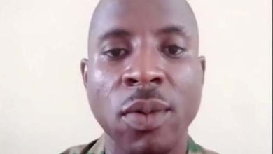 Photo of Lance corporal blast Buratai over killings in the North, gets arrested