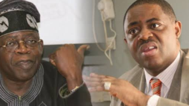 "Photo of ""Tinubu has been retired from Politics"" – FFK reacts to Presidency's support of Giadom as APC's acting chairman"