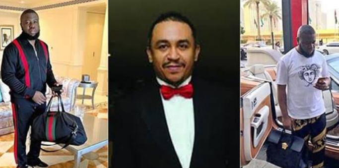 Hushpuppi: you drag Pastors for collecting offerings but dine with Fraudsters, Nigerians attack Daddy Freeze 1