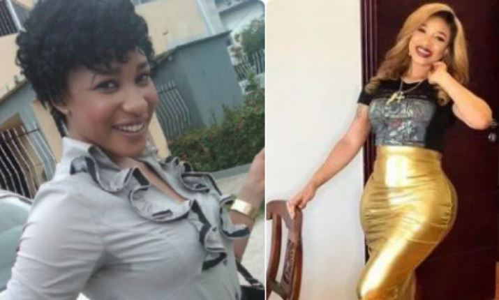 """Where are the Aprokos that said surgery is not good?"" Tonto Dikeh asks as she shares photos of her body before and after surgery 1"