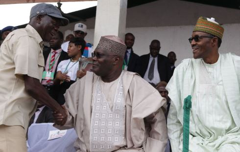 Oshiomhole vehemently kicked against fuel subsidy removal under Obasanjo - Atiku 1