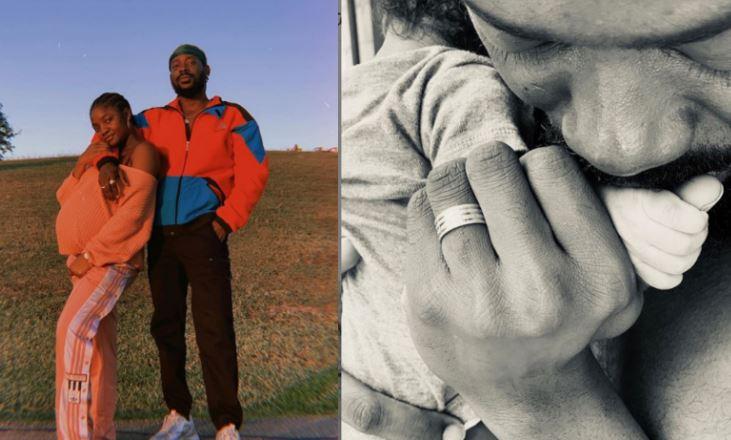 Simi and her husband, Adekunle Gold welcome baby girl 1