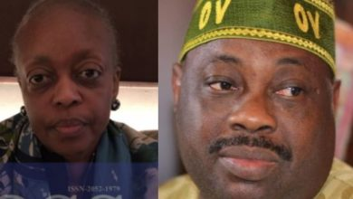 "Photo of ""It is false"" Dele Momodu dismisses reports claiming Diezani-Madueke has been offered a position in Dominica and now carries their passport"