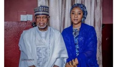 Photo of Nigeria Customs Service Boss, Hameed Ali marries a new wife in low-key ceremony (photos)