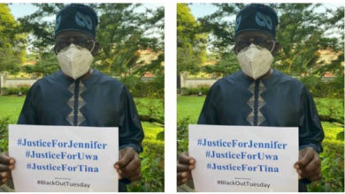 Photo of APC National leader, Bola Tinubu joins the campaign for justice for Uwa, Tina and Jennifer