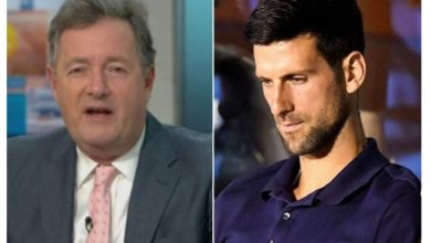 Photo of Piers Morgan Attacks Novak Djokovic as he tests positive for COVID-19 after hosting tennis tournament