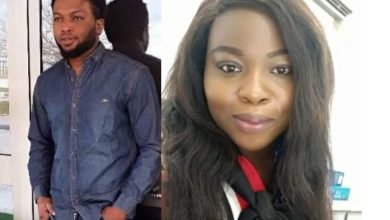 "Photo of Nigerian man tenders public apology to a Lady for ""fondling"" her breast without her consent years ago"