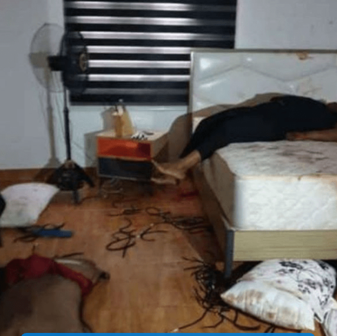 Graphic Photos of Couple Involved in Murder-Suicide incident in Lagos emerges online 13