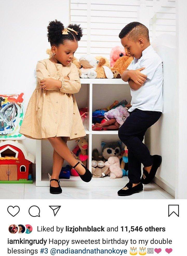 Paul Okoye, Wife celebrate their twin as they turn 3 (Photos) 7