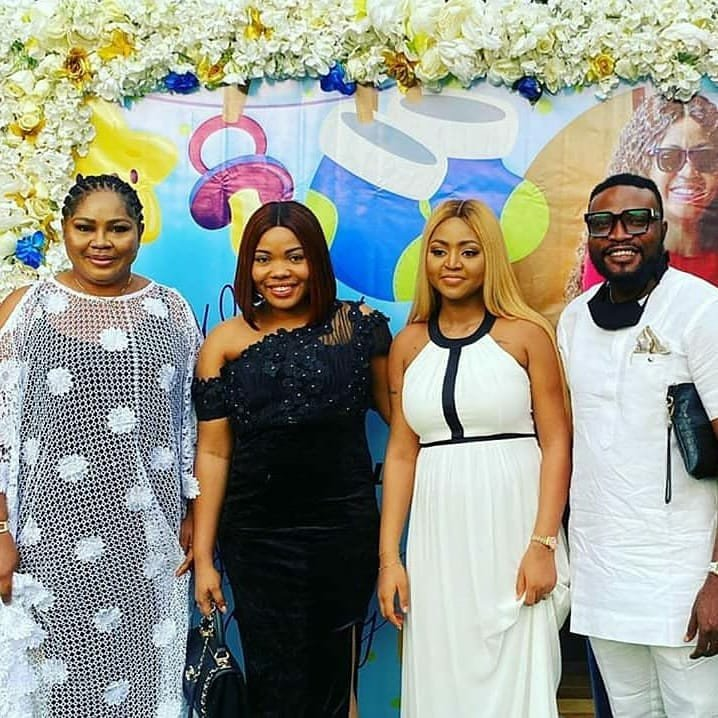 Photos from the naming ceremony of Regina Daniels and Ned Nwoko's Son 9