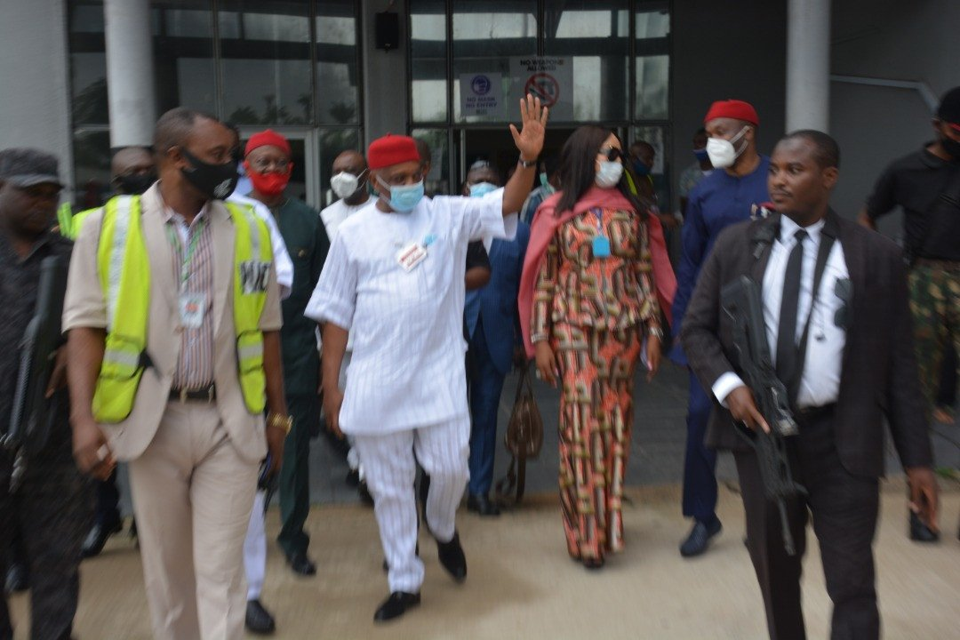 Orji Uzor Kalu receives rousing welcome in Abia State as he returns Home months after release from Prison 10