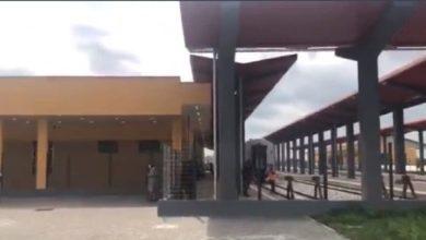 Photo of Buhari names Agbor Railway complex after Goodluck Jonathan