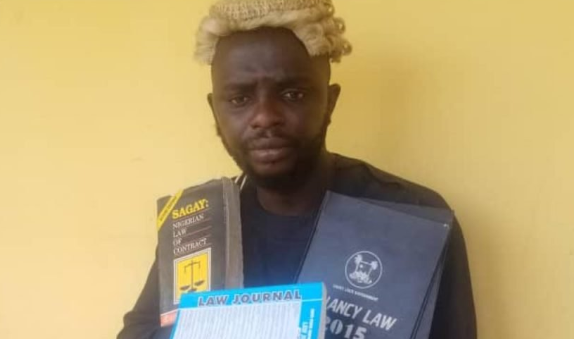 Fraud: Fake Lawyer who studied Law but did not graduate arrested in Ogun state 1