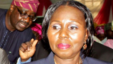 Photo of Akeredolu's wife, Betty, security aides test positive for Coronavirus