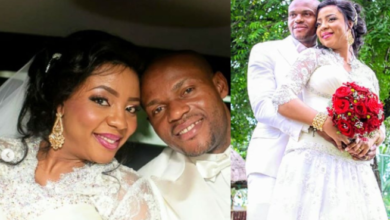 Photo of Former Super Eagles Goalkeeper, Austin Ejide, Wife celebrate 7th wedding anniversary