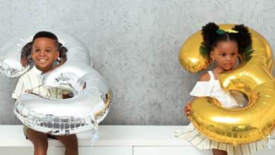 Photo of Paul Okoye, Wife celebrate their twin as they turn 3 (Photos)