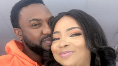 Photo of Actors Linda Ejiofor and Ibrahim Suleiman welcome first child