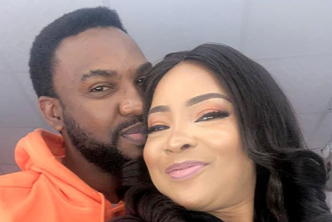 Actors Linda Ejiofor and Ibrahim Suleiman welcome first child 3