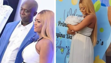 Photo of I have forgiven Ned Nwoko for marrying my daughter because of my grandson – Regina Daniel's father