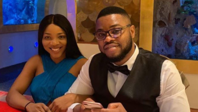 Photo of Sandra Ikeji expecting first child with her husband