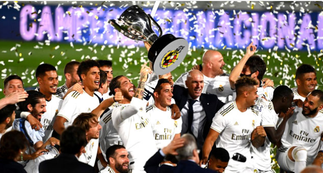Real Madrid become La Liga Champions for the 34th time 3