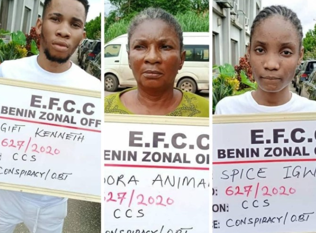 Fraud: EFCC arrest Uniport Undergraduate, Mother and Girlfriend following Petition from FBI 1