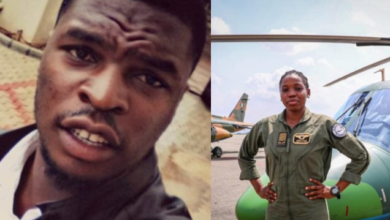 Photo of Air Force reveals Identity of Classmate who knocked down Arotile, shares further details
