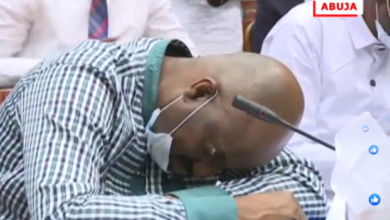 Photo of NDDC Acting MD, Pondei passes out while testifying before House of Representatives probe panel