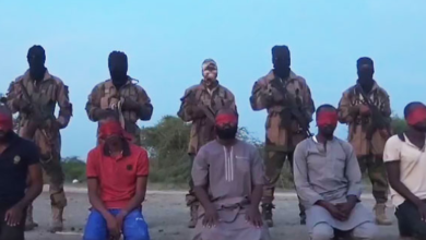 Photo of Boko Haram Fighters execute Five aid workers
