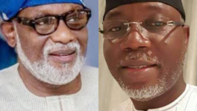 Photo of Ondo Election: Akeredolu picks Lucky Ayedatiwa as running mate