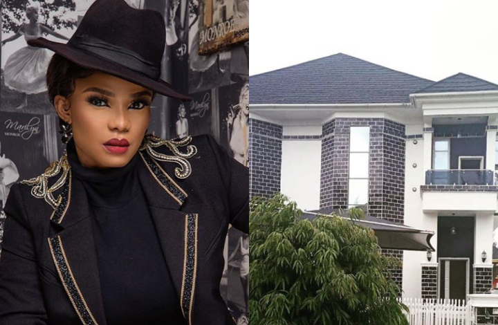 Actress, Iyabo Ojo acquires mansion in Lekki 5