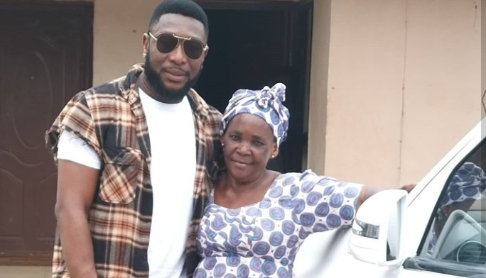 Actor, Tchidi Chikere adopts his Old Nanny as new Mom 5