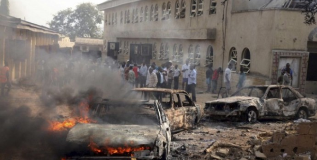 Bomb Explosions rock Maiduguri 1