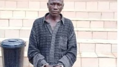 Photo of 59-year-old pastor arrested for raping a 10-year-old girl in Ogun (photo)